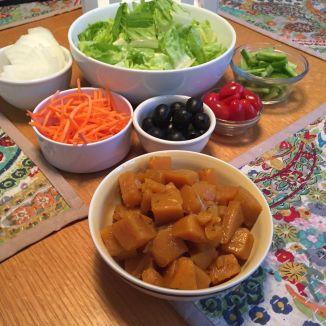 dinner veggies